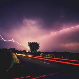Lightening Storm. Winchester